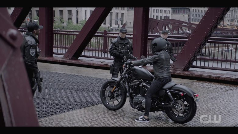 "Vans Sneakers & Harley-Davidson XG 750 Street Motorcycle Used by Ruby Rose as Kate Kane in Batwoman Season 1 Episode 4 ""Who Are You?"" (2019) - TV Show Product Placement"