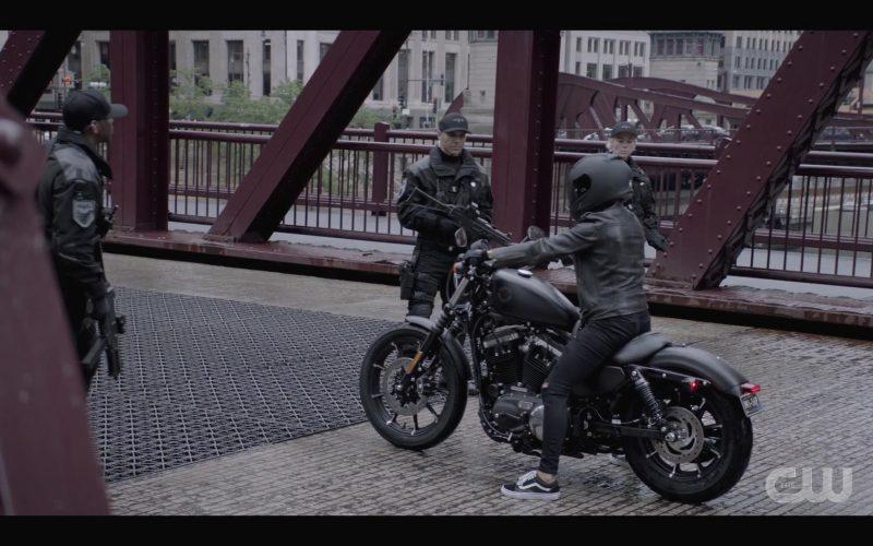 Vans Sneakers & Harley-Davidson Motorcycle Used by Ruby Rose as Kate Kane in Batwoman Season 1 Episode 4