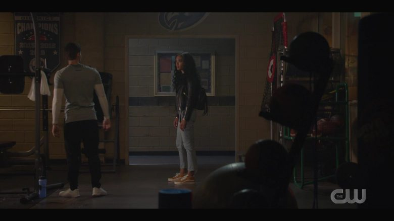Vans Yellow Shoes Worn by Samantha Logan as Olivia Baker in All American (2)
