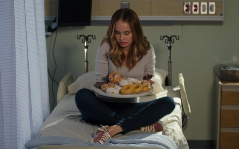 Veja Pink Shoes Worn by Debby Ryan as Patricia Bladel in Insatiable (1)