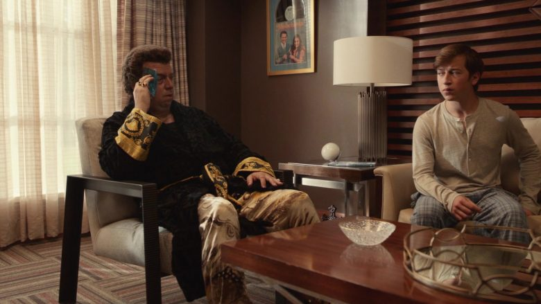 Versace Black Bathrobe Worn by Danny McBride as Jesse Gemstone in The Righteous Gemstones Season 1 Episode 8 (2019) - TV Show Product Placement