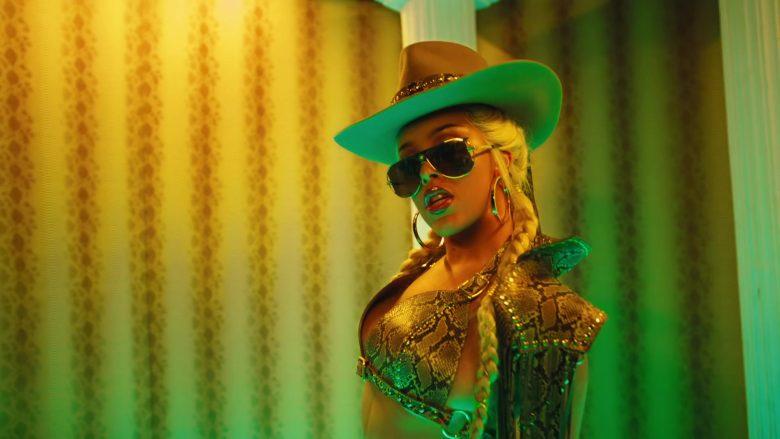 Versace Sunglasses Worn by Doja Cat in Rules (1)
