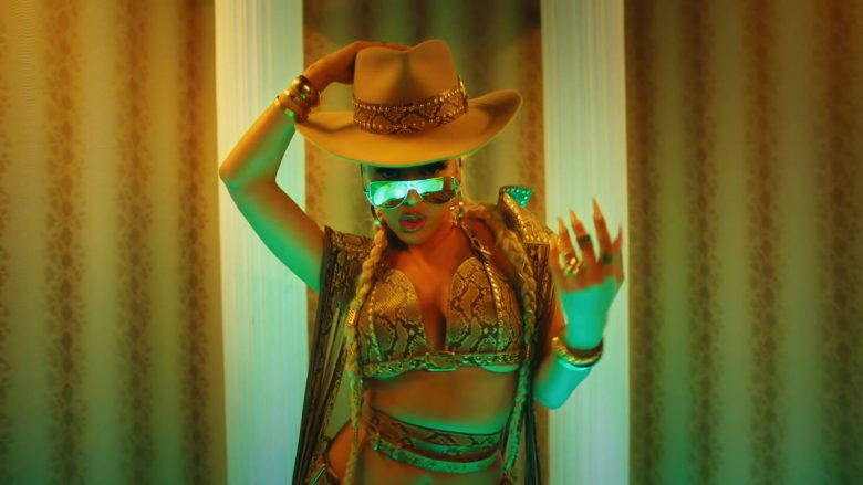 Versace Sunglasses Worn by Doja Cat in Rules (4)