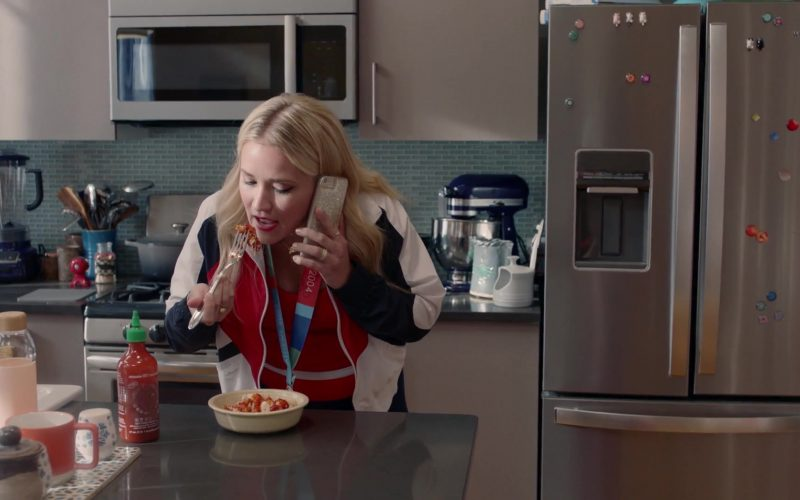 Whirlpool Refrigerator Used by Emily Osment as Roxy Doyle in Almost Family