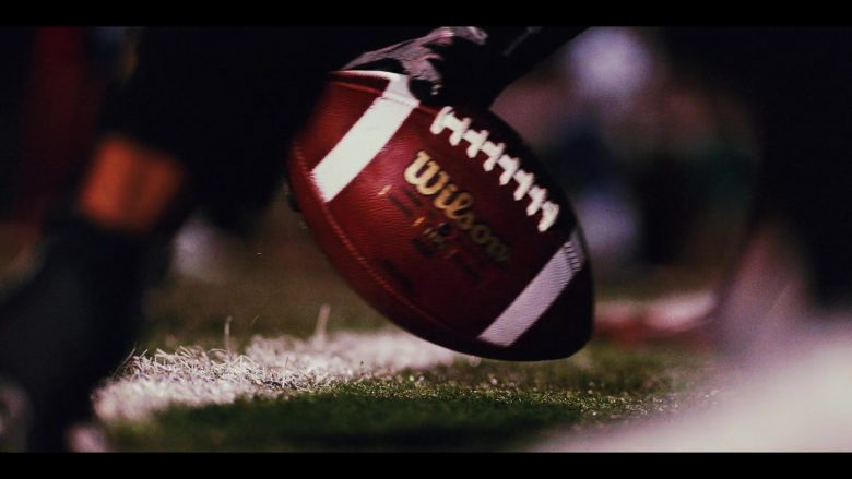"""Wilson Football in Daybreak Season 1 Episode 5 """"Homecoming Redux or My So Called Stunt Double Life"""" (2019) - TV Show Product Placement"""