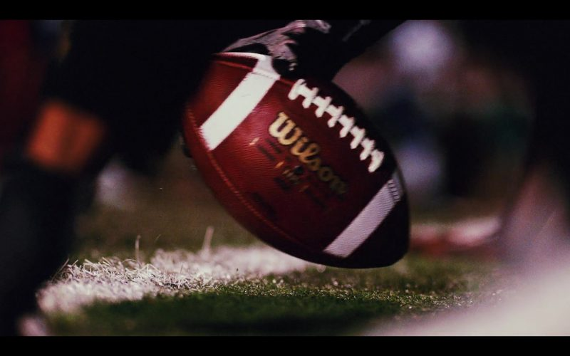 Wilson Football in Daybreak Season 1 Episode 5