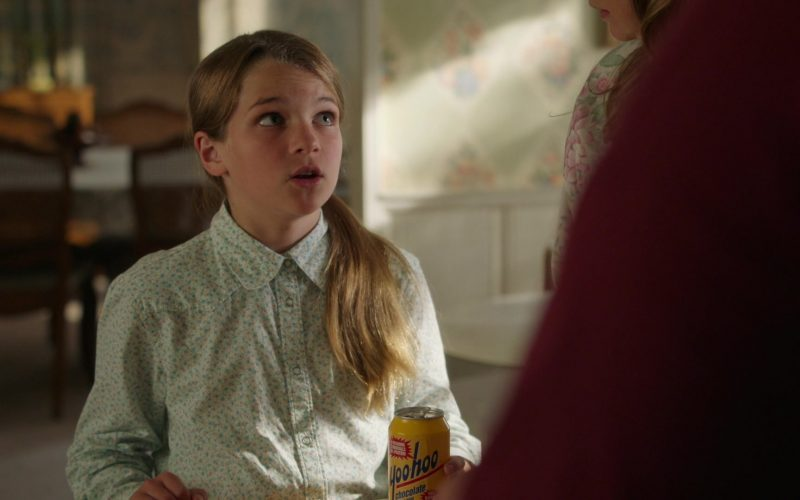 Yoo-hoo Chocolate Drink Enjoyed by Raegan Revord as Missy Cooper in Young Sheldon Season 3 Episode 3