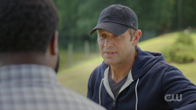 """'47 Brand Cap Worn by Grant Show as Blake Carrington in Dynasty Season 3 Episode 6 """"A Used Up Memory"""" (2019) - TV Show Product Placement"""