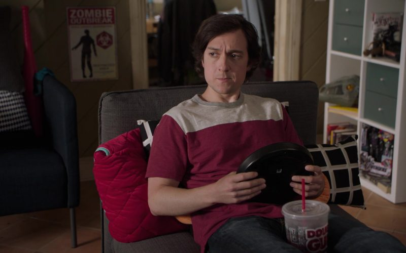 7-Eleven Double Gulp Drink Enjoyed by Josh Brener as Big Head in Silicon Valley Season 6 Episode 4