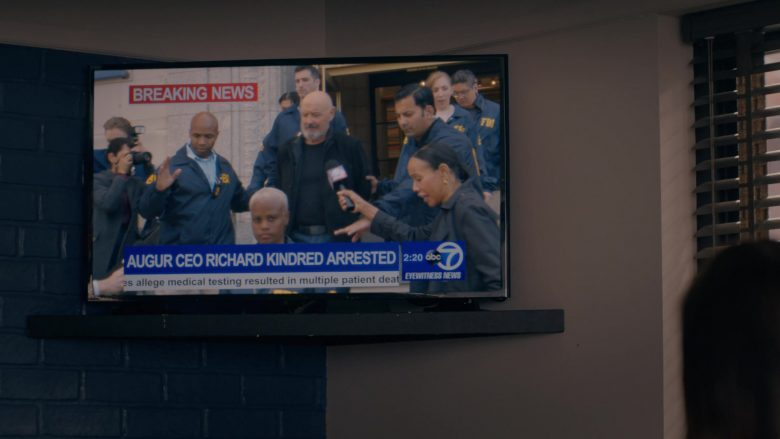 ABC Television Channel in Emergence Season 1 Episode 6