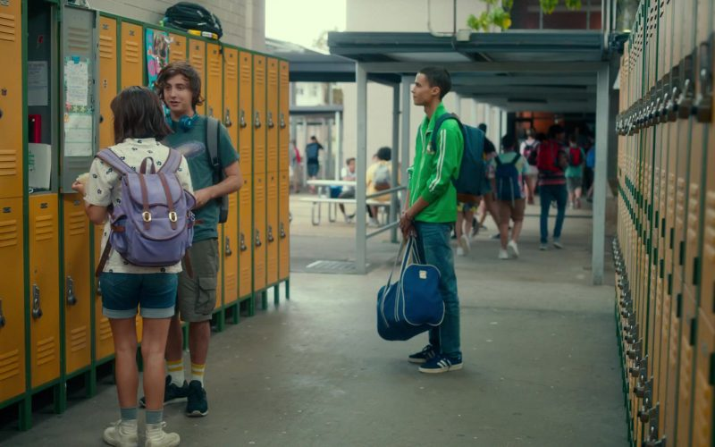 Adidas Blue Sneakers Worn by Jeff Wahlberg in Dora and the Lost City of Gold