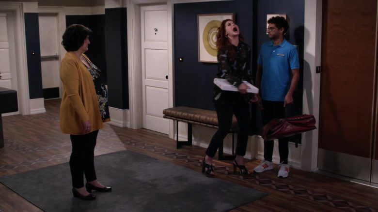 Adidas Men's Sneakers in Will & Grace Season 11 Episode 3 With Enemies Like These (1)