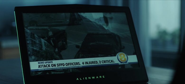 """Alienware Laptop Used by Ryan Potter as Beast Boy in Titans Season 2 Episode 10 """"Fallen"""" (2019) - TV Show Product Placement"""