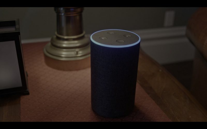 Amazon Echo Smart Speaker Used by Josh Whitehouse in The Knight Before Christmas (1)