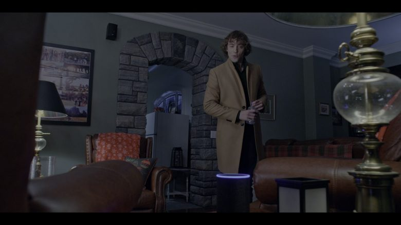 Amazon Echo Smart Speaker Used by Josh Whitehouse in The Knight Before Christmas (2)