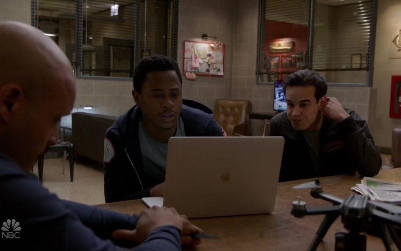 Apple MacBook Laptop Used by Daniel Kyri in Chicago Fire Season 8 Episode 9 (1)
