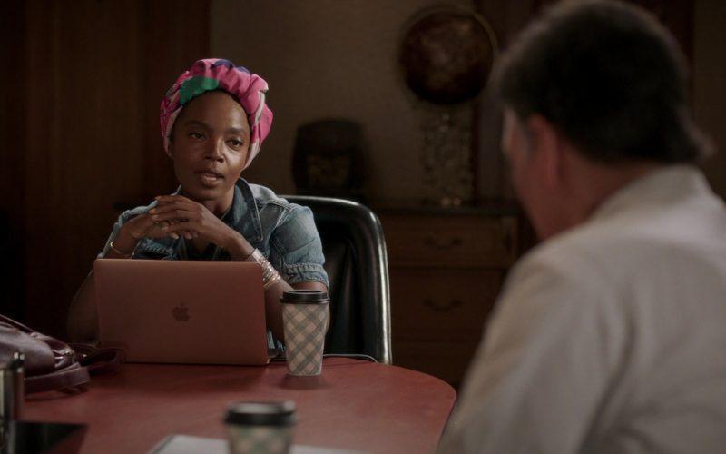 Apple MacBook Laptop Used by MaameYaa Boafo in Bluff City Law Season 1 Episode 7 (1)