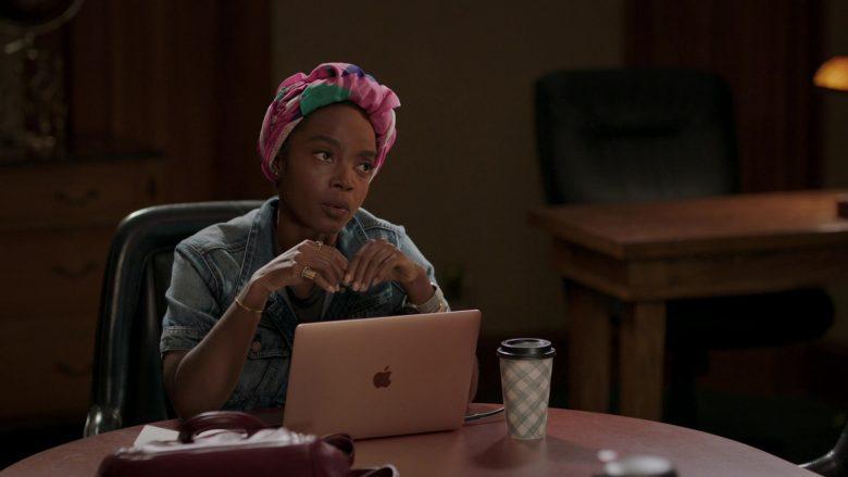Apple MacBook Laptop Used by MaameYaa Boafo in Bluff City Law Season 1 Episode 7 (2)