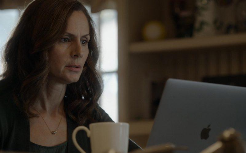 Apple MacBook Laptop Used by Mozhan Marnò as Samar Navabi in The Blacklist Season 7 Episode 6 (3)