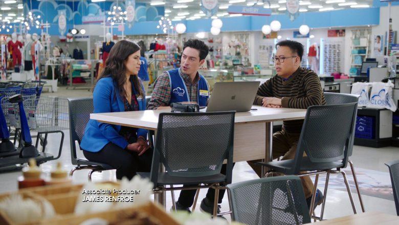 "Apple MacBook Laptop in Superstore: Season 5, Episode 8 ""Toy Drive"" (2019) TV Show"