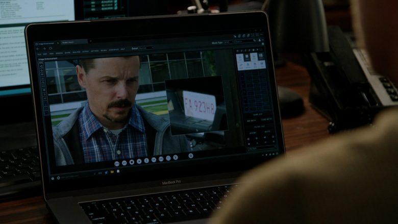 Apple MacBook Pro Laptop in Chicago P.D. Season 7 Episode 8 No Regrets
