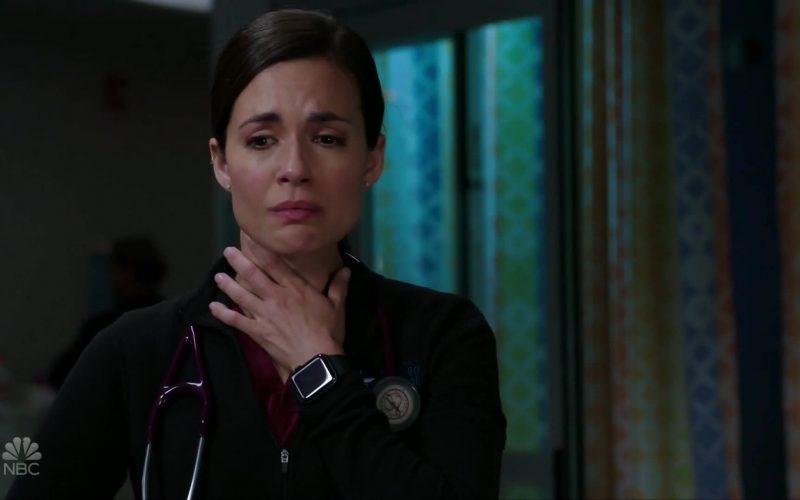 Apple Watch Worn by Torrey DeVitto as Dr. Natalie Manning in Chicago Med Season 5 Episode 9