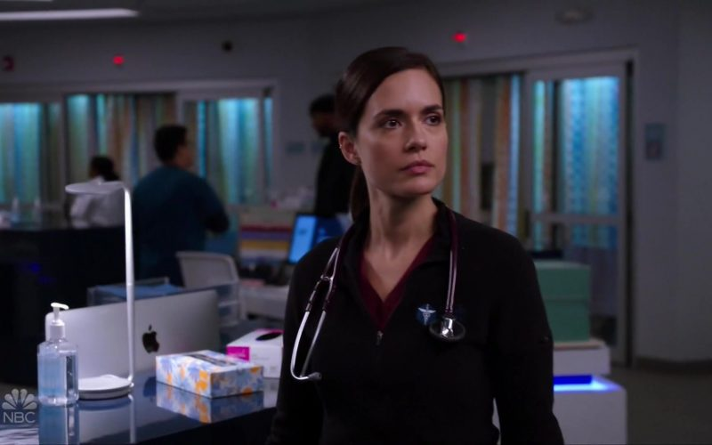 Apple iMac All-In-One Computers in Chicago Med Season 5 Episode 9 (1)