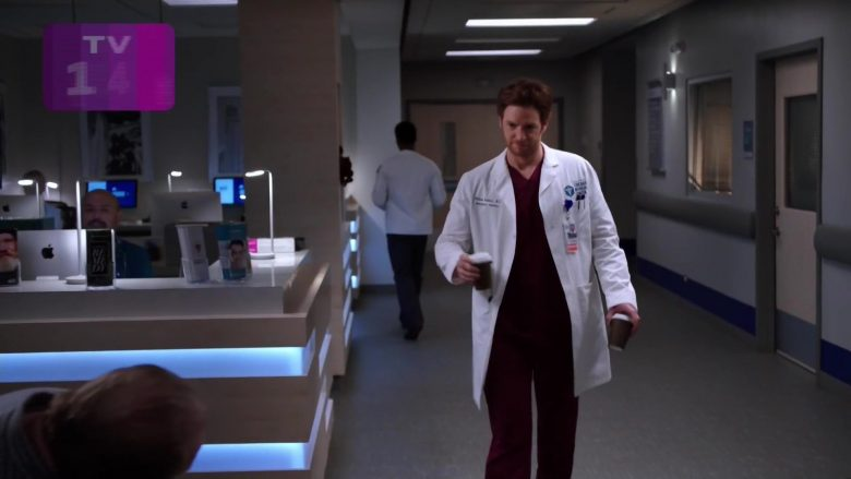 """Apple iMac All-In-One Computers in Chicago Med Season 5 Episode 9 """"I Can't Imagine the Future"""" (2019) - TV Show Product Placement"""