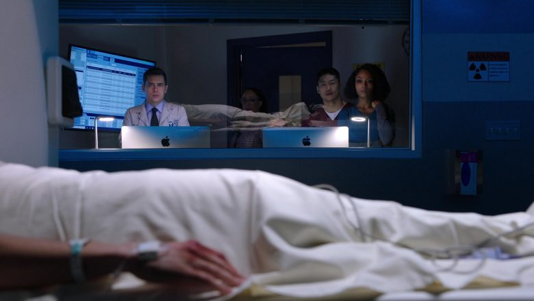 Apple iMac All-In-One Desktop Computers in Chicago Med Season 5 Episode 8 (1)