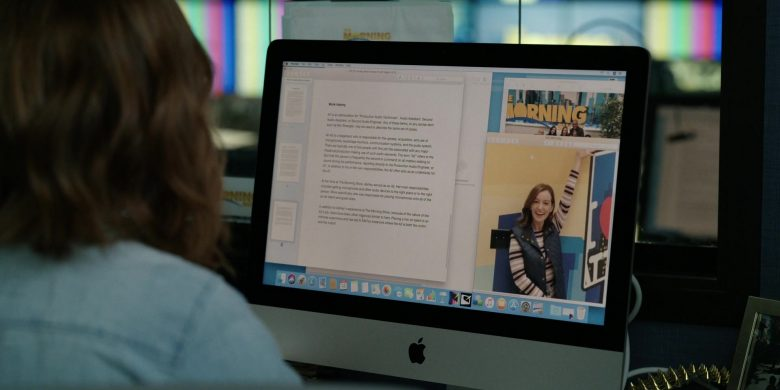 Apple iMac Computer Used by Reese Witherspoon as Bradley Jackson in The Morning Show Season 1 Episode 4 (2)