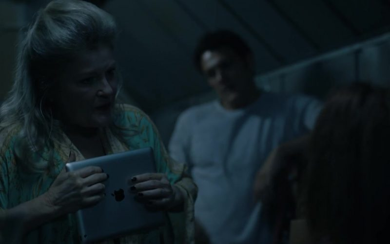 Apple iPad Tablet Used by Kate Mulgrew as Alma Lane in Mr. Mercedes Season 3 Episode 9 (2)