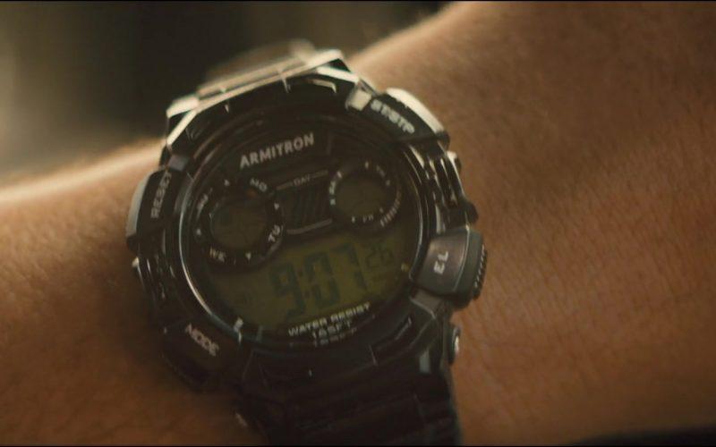 Armitron Watch Worn by Jai Courtney in Semper Fi (2)