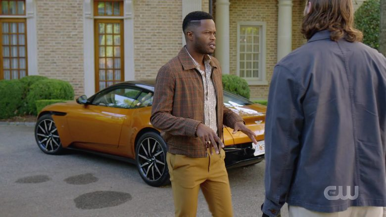 Aston Martin Sports Car in Dynasty Season 3 Episode 6 A Used Up Memory (1)