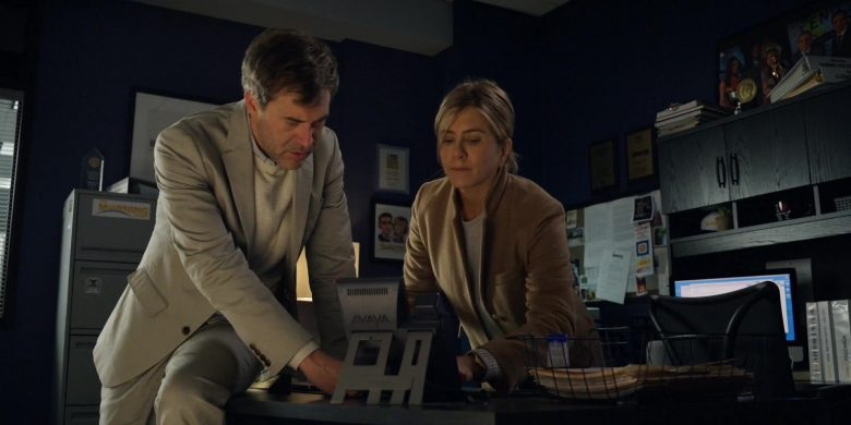 Avaya Phone Used by Mark Duplass as Chip and Jennifer Aniston as Alex Levy in The Morning Show Season 1 Episode 1 (2019) TV Show