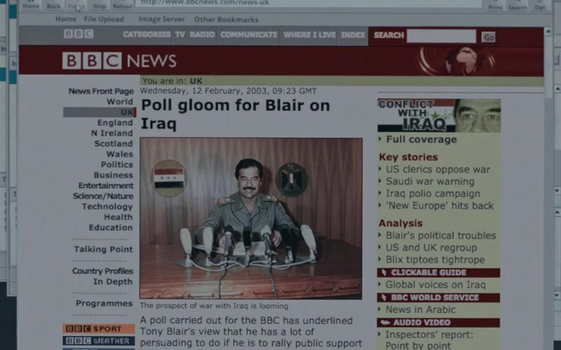 BBC News in Official Secrets