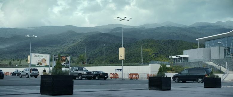 Beautysané Healthy Food Solutions Billboards in Angel Has Fallen (2019) - Movie Product Placement