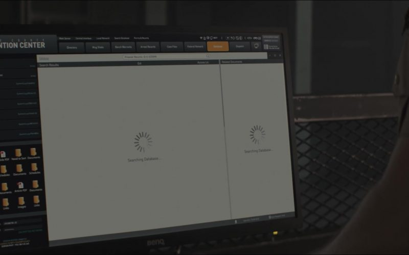 Benq Monitor in Titans Season 2 Episode 10 Fallen (1)