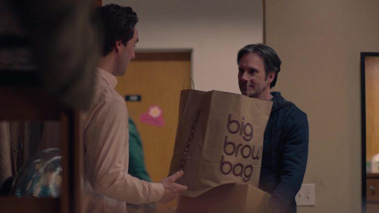 "Bloomingdale's Big Brown Bag in Mrs. Fletcher Season 1 Episode 4 ""Parents' Weekend"" (2019) - TV Show Product Placement"
