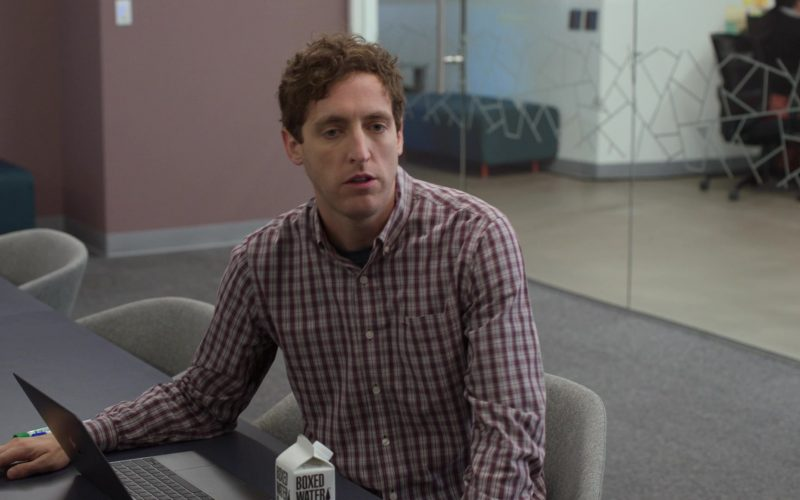 Boxed Water Is Better Enjoyed by Thomas Middleditch as Richard Hendricks in Silicon Valley Season 6 Episode 4 (1)