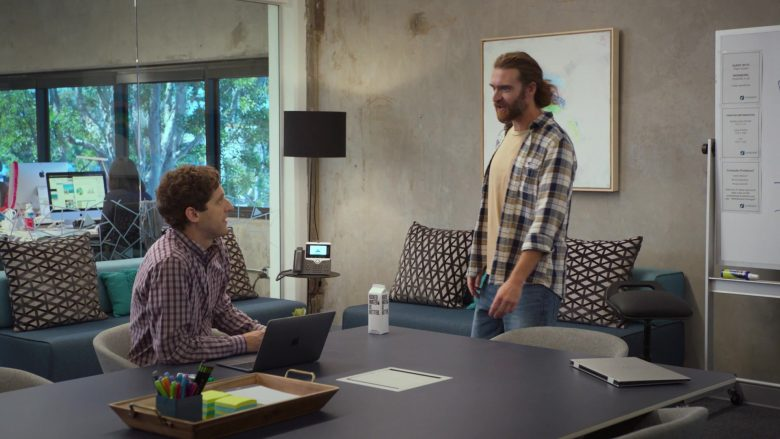 Boxed Water Is Better Enjoyed by Thomas Middleditch as Richard Hendricks in Silicon Valley Season 6 Episode 4 (2)