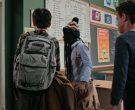 Burton Backpack in Ghostwriter  Season 1 Episode 2 Ghost in...