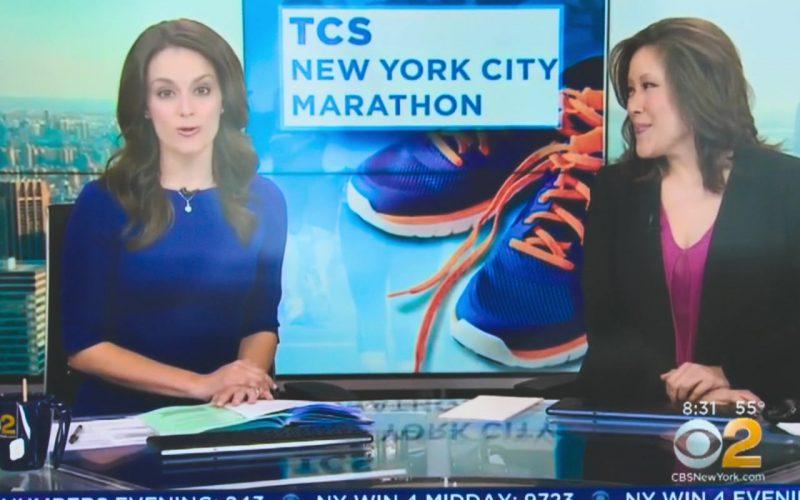 CBS TV Channel in Brittany Runs a Marathon (2019)