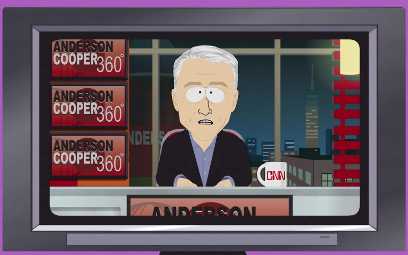 CNN Anderson Cooper 360° in South Park Season 23 Episode 7