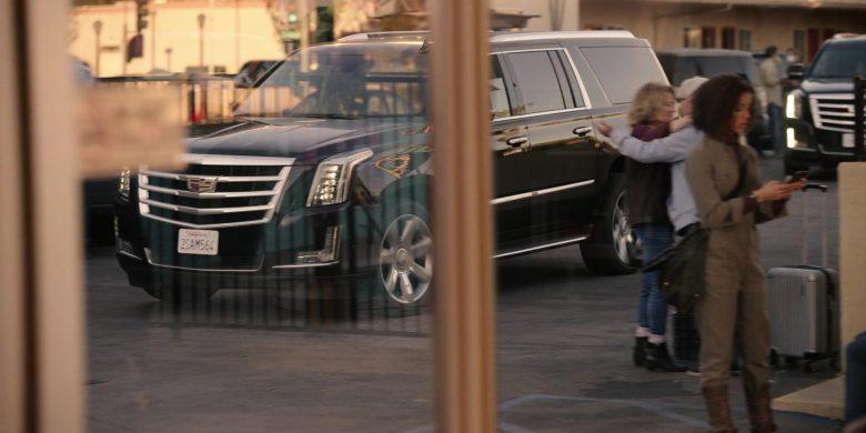 Cadillac Escalade Black Cars in The Morning Show Season 1 Episode 6 (4)