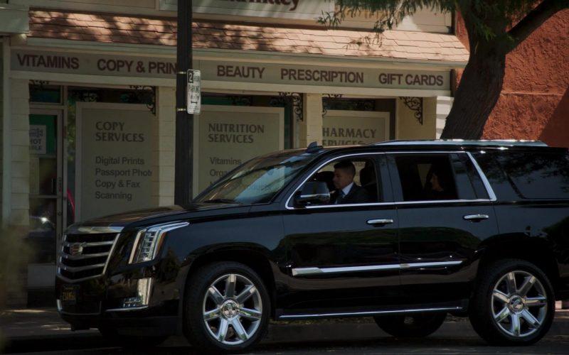 Cadillac Escalade Black SUV in Mayans M.C. Season 2 Episode 10 Hunahpu