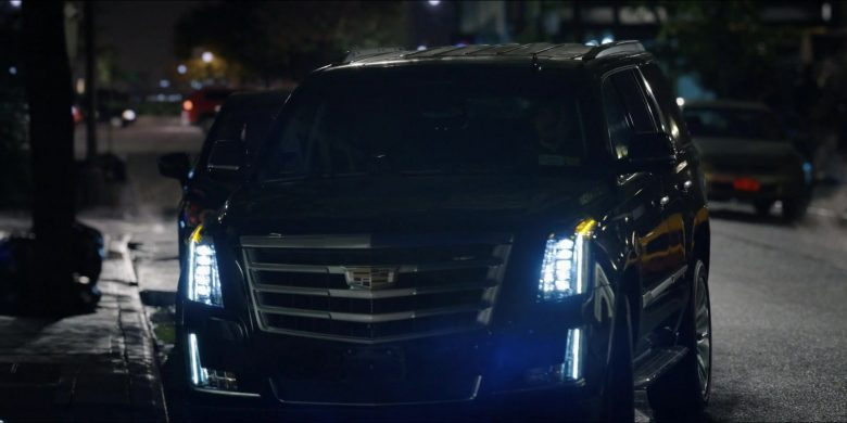 Cadillac Escalade SUVs in The Morning Show Season 1 Episode 2 (1)