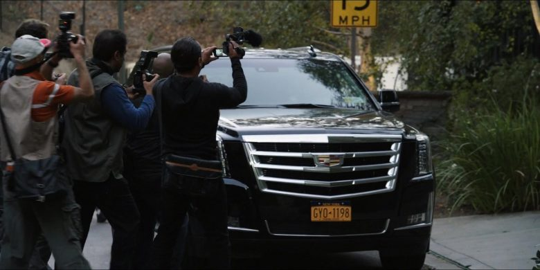 Cadillac Escalade SUVs in The Morning Show Season 1 Episode 2 (4)