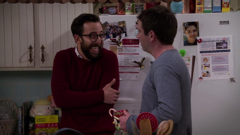Café Bustelo and Nabisco Chips Ahoy! in Merry Happy Whatever Season 1 Episode 6