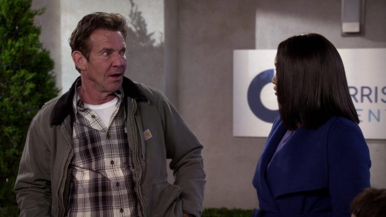 Carhartt Jacket Worn by Dennis Quaid as Don Quinn in Merry Happy Whatever Season 1 Episode 2 (5)