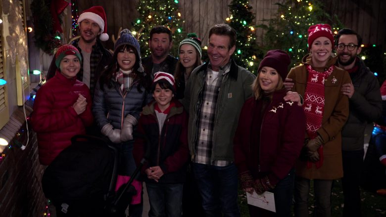 Carhartt Jacket Worn by Dennis Quaid as Don Quinn in Merry Happy Whatever Season 1 Episode 2 (6)